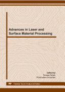Advances in Laser and Surface Material Processing