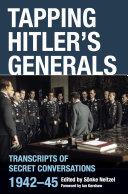 Pdf Tapping Hitler's Generals