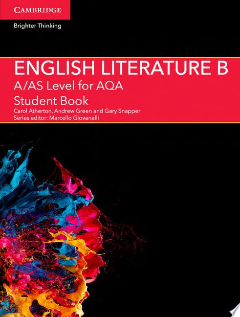 A AS Level English Literature B for AQA Student Book