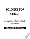 Soldiers For Christ Teacher S Manual Pdf