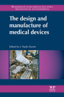 The Design and Manufacture of Medical Devices Pdf/ePub eBook