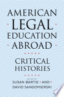 American Legal Education Abroad