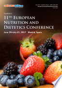 Proceedings of 11th European Nutrition and Dietetics Conference 2017 Book