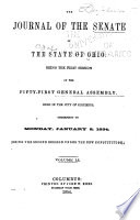 Journal of the Senate of the State of Ohio Book PDF