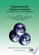 Greenhouse Gas Emission Inventories Book PDF