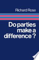 Do Parties Make A Difference