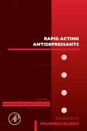 Pdf Rapid Acting Antidepressants Telecharger