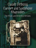 Clarinet and saxophone rhapsodies