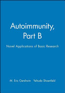 Autoimmunity  Part B Book