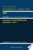 Geometric Partial Differential Equations - Part I
