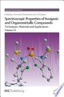 Spectroscopic Properties Of Inorganic And Organometallic Compounds Book PDF