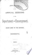 Journal of Proceedings of the     Annual Encampment of the Department of Minnesota  Grand Army of the Republic Book