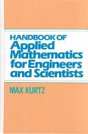 Handbook of Applied Mathematics for Engineers and Scientists