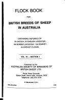 Pdf Flock Book for British Breeds of Sheep in Australia