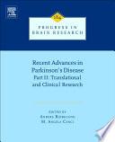 Recent Advances in Parkinsons Disease Book
