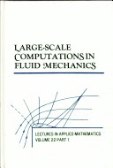 Large-Scale Computations in Fluid Mechanics Pdf