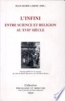 L'infini entre science et religion au XVIIe siècle
