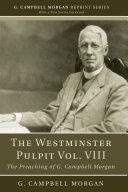 The Westminster Pulpit vol. VIII Pdf/ePub eBook