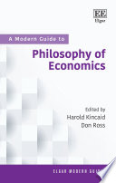 A Modern Guide to Philosophy of Economics Book