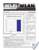 Wi Fi WLAN Monthly Newsletter