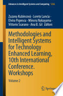 Methodologies and Intelligent Systems for Technology Enhanced Learning  10th International Conference  Workshops