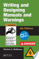 Read Online Writing and Designing Manuals and Warnings 4e For Free
