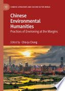 Chinese Environmental Humanities