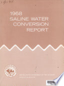 Saline Water Conversion Report for