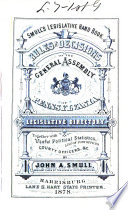 Smull s Legislative Hand Book and Manual of the State of Pennsylvania Book