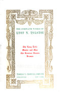 The Complete Works of Lyof N  Tolsto   Book PDF