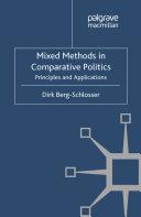 Mixed Methods in Comparative Politics [Pdf/ePub] eBook