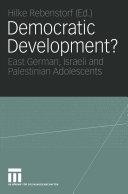 Democratic Development? Pdf/ePub eBook
