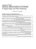 Journal of VLSI Signal Processing Systems for Signal  Image  and Video Technology Book