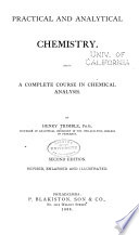 Practical and Analytical Chemistry Book
