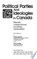 Political Parties and Ideologies in Canada