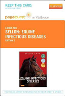 Equine Infectious Diseases   Pageburst E Book on VitalSource  Retail Access Card