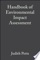 Handbook of Environmental Impact Assessment Book