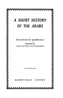 A Short History of the Arabs