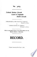 Records and Briefs of the United States Supreme Court Book PDF