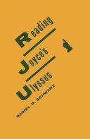 Reading Joyce's Ulysses Pdf/ePub eBook