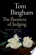 The Business of Judging