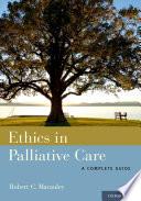 Ethics In Palliative Care