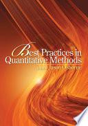 Best Practices in Quantitative Methods