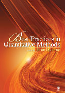 Pdf Best Practices in Quantitative Methods