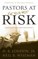 Pastors at Greater Risk