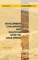 Development Challenges and Solutions After the Arab Spring Pdf/ePub eBook
