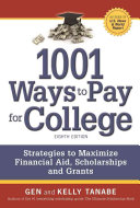 1001 Ways to Pay for College Book