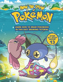 How to Draw Pokemon Step by Step Book 13