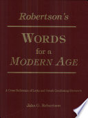 Robertson's Words for a Modern Age