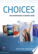 Choices Pre-Intermediate Students' Book for Mylab Pack